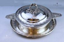 カルディヤック(フランス)純銀製レギュミエ ≪Cardeilhac silver légumier≫