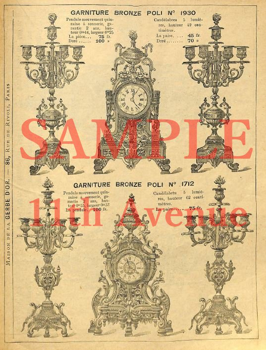 ラ・ジェルブドール 【LA GERBE D'OR】 1894年製品カタログ(デジタル資料)
