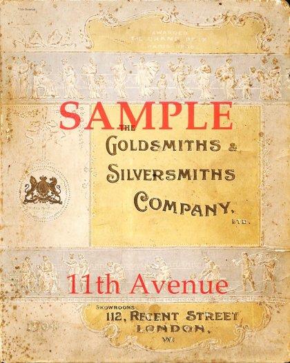 ゴールドスミス&シルバースミス【Goldsmiths&Silversmiths】 1904年公式製品カタログ(デジタル資料)