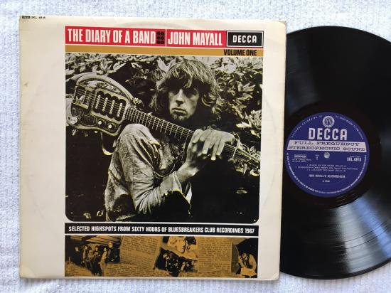 「THE DIARY OF A BAND VOLUME ONE」JOHN MAYALL