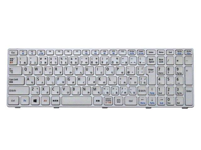 NEC LaVie E LE150/J LE150/N LE150/S LE150/M LE150/L シリーズ用日本語キーボード (ホワイト MP-12G90J0-698…