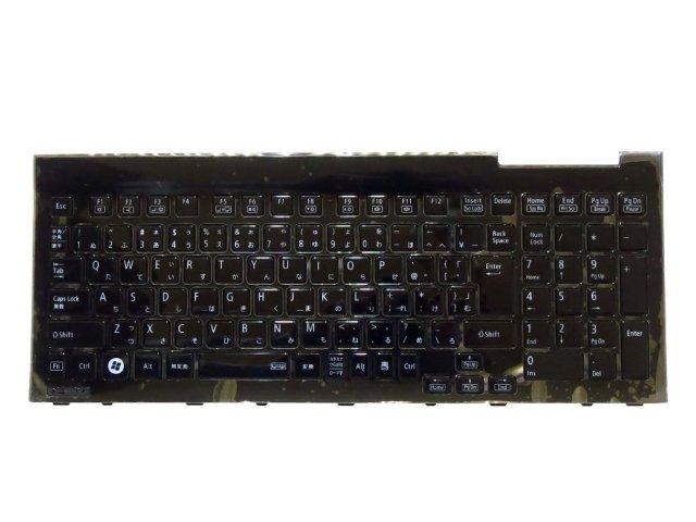NEC LaVie S LS150/HS LS150/JS LS150/LS LS350/HS LS350/JS LS350/LS 日本語キーボード 黒