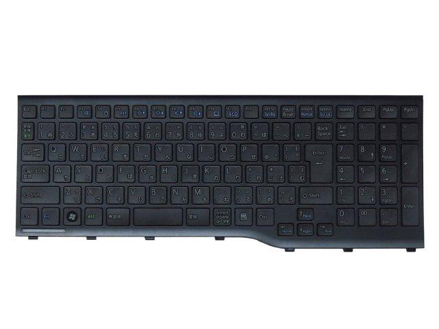 富士通 FUJITSU FMV LIFEBOOK AH45/H AH45/J 日本語キーボード 黒 CP575629-01