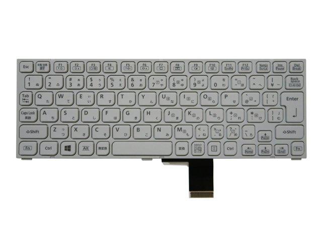 Panasonic Let's note CF-MX3 シリーズ用 純正キーボード 白