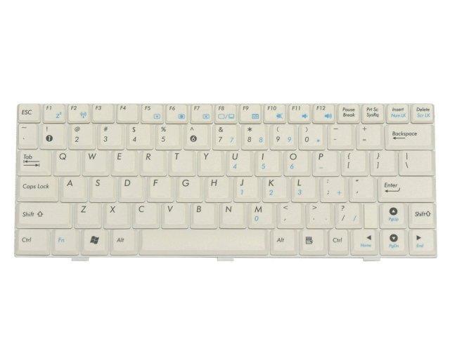 ASUS Eee PC 1000H 1000HD 1000HA S101英語キーボード (白)