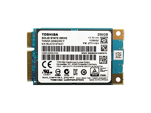 東芝 TOSHIBA THNSFJ256GMCT 256GB mSATA SATAⅢ 6Gb/s MLC SSD