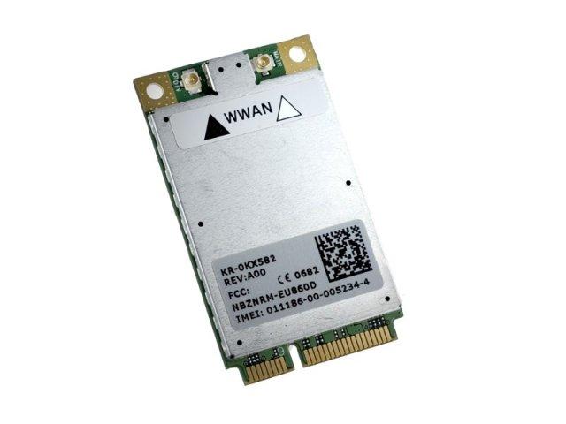 Dell Wireless 5520 Mobile Broadband 3G HSDPA WWAN ワイヤレスWANモジュールカード Novatel EU870D