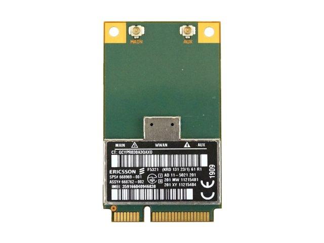 HP EliteBook Advanced N Dual Band Wireless Card 8560w 8570p 8570w 8760w 8770w