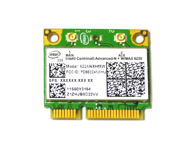 Lenovo/Thinkpad純正 Intel Centrino Advanced-N + WiMAX 6250(622ANXHMW) 無線LANカード 60Y3195