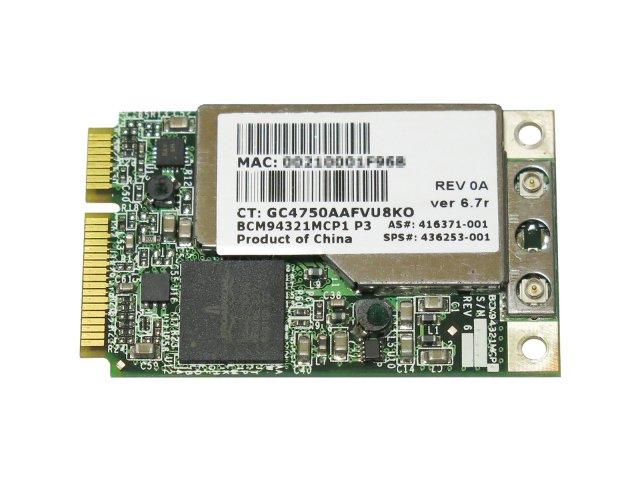 HP純正 + 汎用 Broadcom BCM94321MC BCM4321 802.11a/b/g/n 300Mbps 無線LANカード