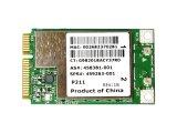 HP純正 459263-001 + 汎用 Broadcom BCM94312MCG BCM4312 802.11b/g PCIe mini 無線LANカード