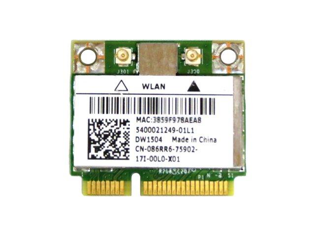 Dell Wireless WLAN 1504 DW1504 内蔵ワイヤレスLAN Half-Miniカード (802.11b/g/n対応) BCM94313HMG2L/BCM4313