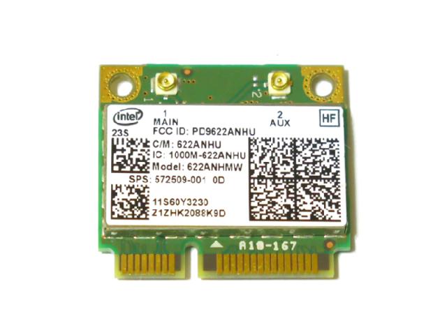 Lenovo/HP純正 60Y3231 572509-001 Intel Centrino Advanced-N 6200 802.11a/b/g/n 300Mbps 無線LANカード