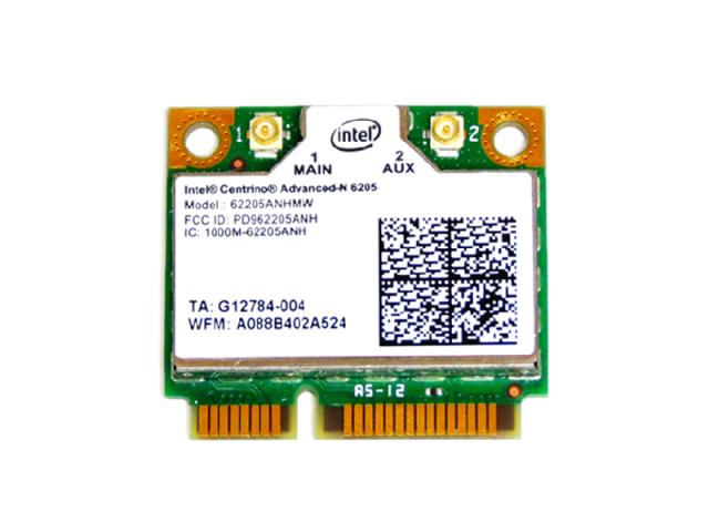 インテル Intel Centrino Advanced-N 6205 2.4GHz/5GHz 802.11a/b/g/n 300Mbps 無線LANカード 62205ANHMW