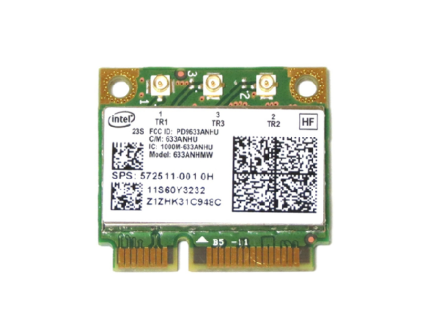 Lenovo/HP純正 60Y3233 572511-001 Intel Centrino Ultimate-N 6300 802.11a/b/g/n 450Mbps 無線LANカード
