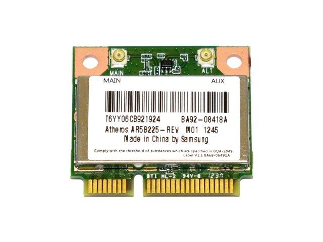 Atheros AR5B225 WB225 無線LANカード (802.11b/g/n、シングルバン WIFI+Bluetooth 4.0)