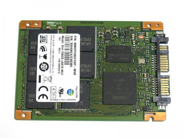 サムソン Samsung MMDPE56GFDXP-MVB MLC 1.8インチ Micro SATA 256G SSD  Slim 256GB uSATA MLC