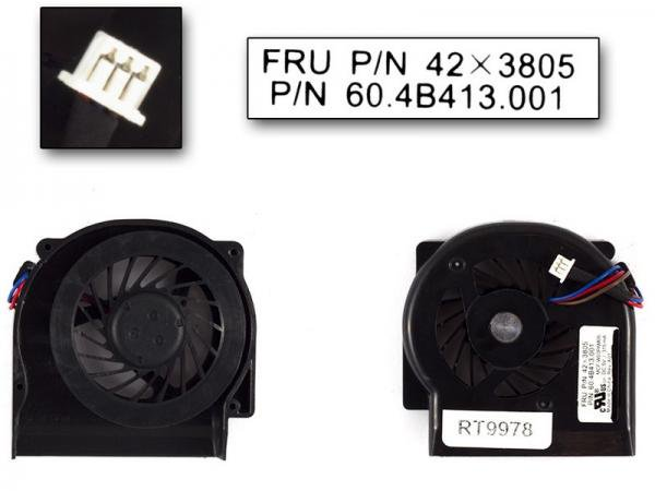 IBM Lenovo Thinkpad X60 X61 用 CPU FAN CPUファン 42X3805