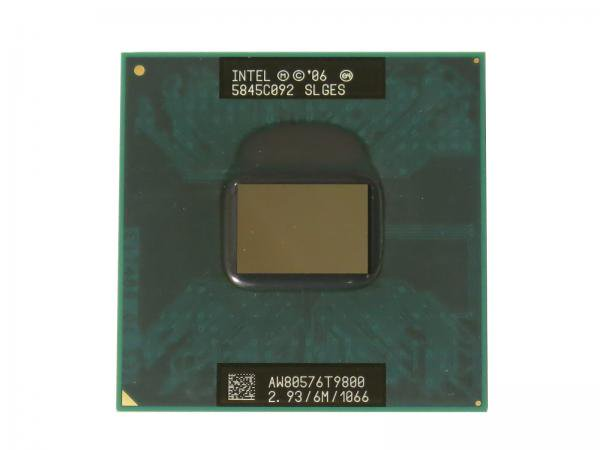Intel Core2 Duo Processor T9800 SLGES CPU (6M Cache, 2.93 GHz, 1066 MHz FSB) PGA478 バルク