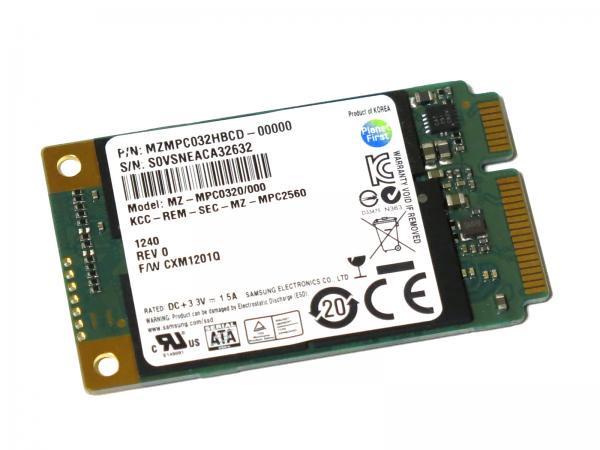 サムソン Samsung 32GB PM830 MZMPC032 MZ-MPC0320/000 mSATA SATA III PCI-E SSD Solid State Drive