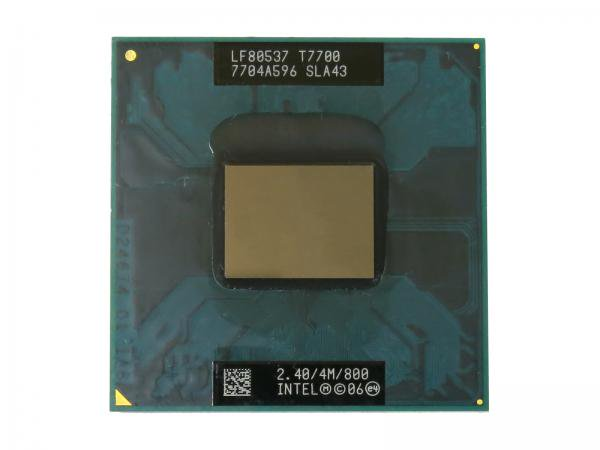 Intel Core2 Duo Processor T7700 SLA43 CPU (4M Cache, 2.40 GHz, 800 MHz FSB) Socket P バルク