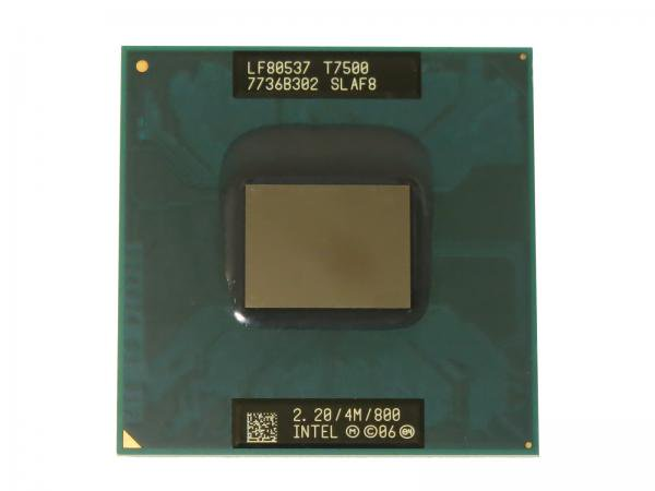Intel Core2 Duo Processor T7500 SLAF8 CPU(4M Cache, 2.20 GHz, 800 MHz FSB)  Socket P バルク