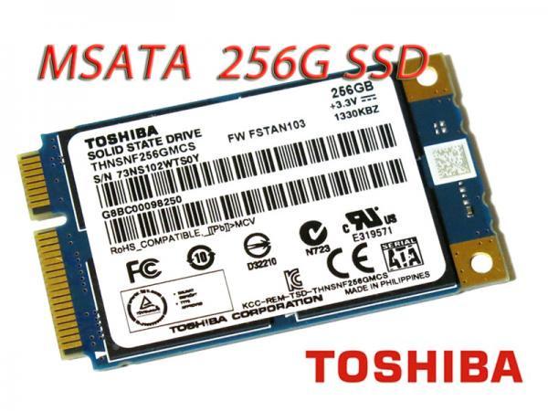 東芝 TOSHIBA HG5シリーズ THNSNF256GMCS mSATA MLC 265GB SSDモジュール 最大524MB/s/461MB/s