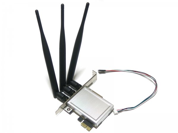 インターフェース mini PCI Express用モジュールカード to PCI express変換ボード アンテナ3本
