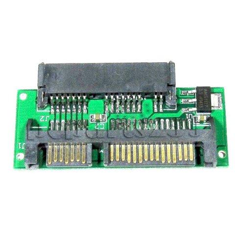 【相性保証付き】 1.8インチ micro SATA→2.5インチ SATA変換アダプター