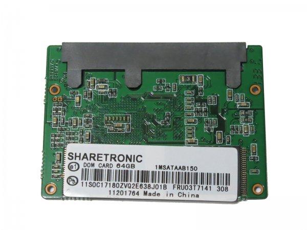 "SHARETRONIC 1.8"" Half-Slim SSD SATA3 6Gb/s 64G  TOSHIBAのNANDフラッシュ搭載"