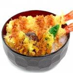天丼(海老2、椎茸、しし唐)