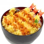 天丼(海老3、椎茸、しし唐)