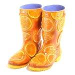 (受注生産)オレンジケーキのブーツ