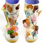 アイスクリームのブーツ(受注生産)