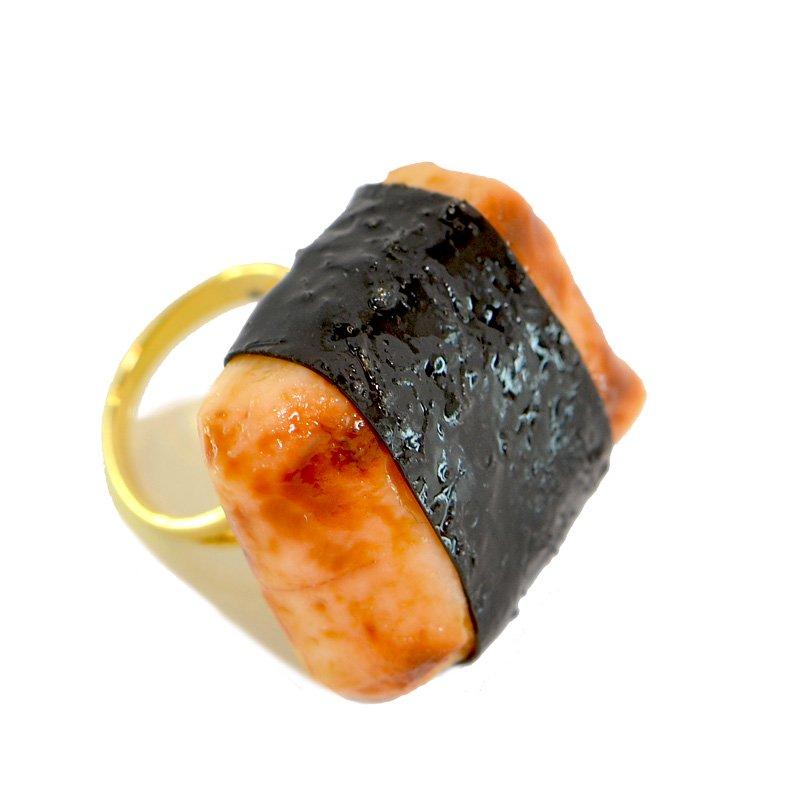 焼き餅のリング
