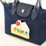 カラフルなショートケーキのバッグ(S)