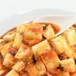 麻婆豆腐(レンゲですくった瞬間)