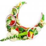 フレッシュ野菜サラダのネックレス