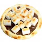 チョコレートスモアのデザートピザ(ホールサイズ)