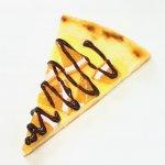 オレンジコンフィとカスタードのデザートピザ(カットピザ)