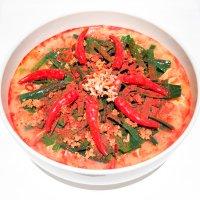 赤い激辛チャーシュー麺