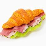 鴨肉のクロワッサンサンド