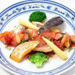 白身魚のラタトゥイユ