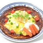 ふわとろ卵のオムライス(デミグラスソース)