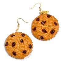 チョコチップクッキーのピアス