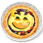 ハロウィンのスィートピザ