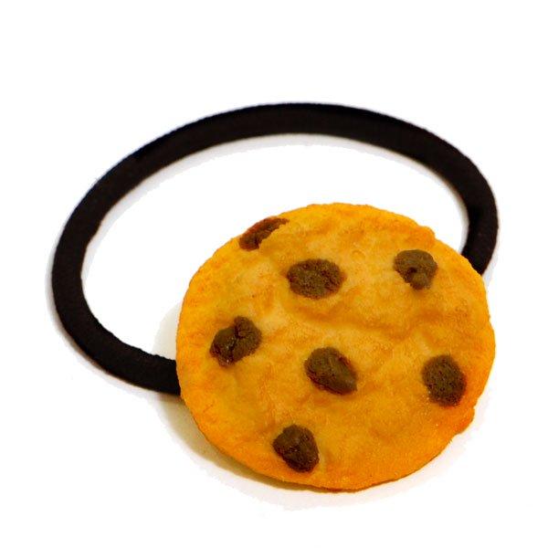 チョコチップクッキーのヘアゴム