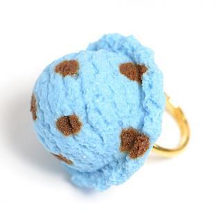 チョコミントアイスのリング