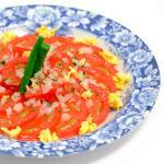 たまごとトマトのサラダ