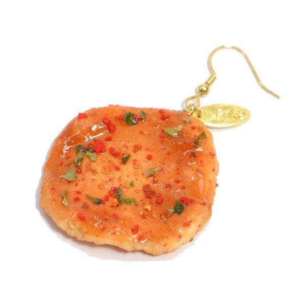 七味せんべいのピアス(ばら売り)